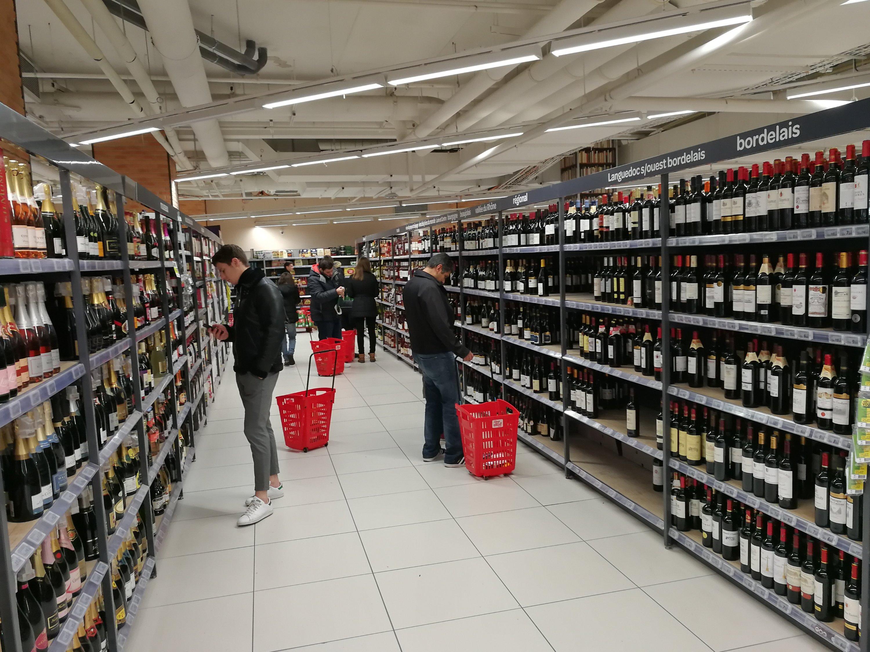 フランスで買い物