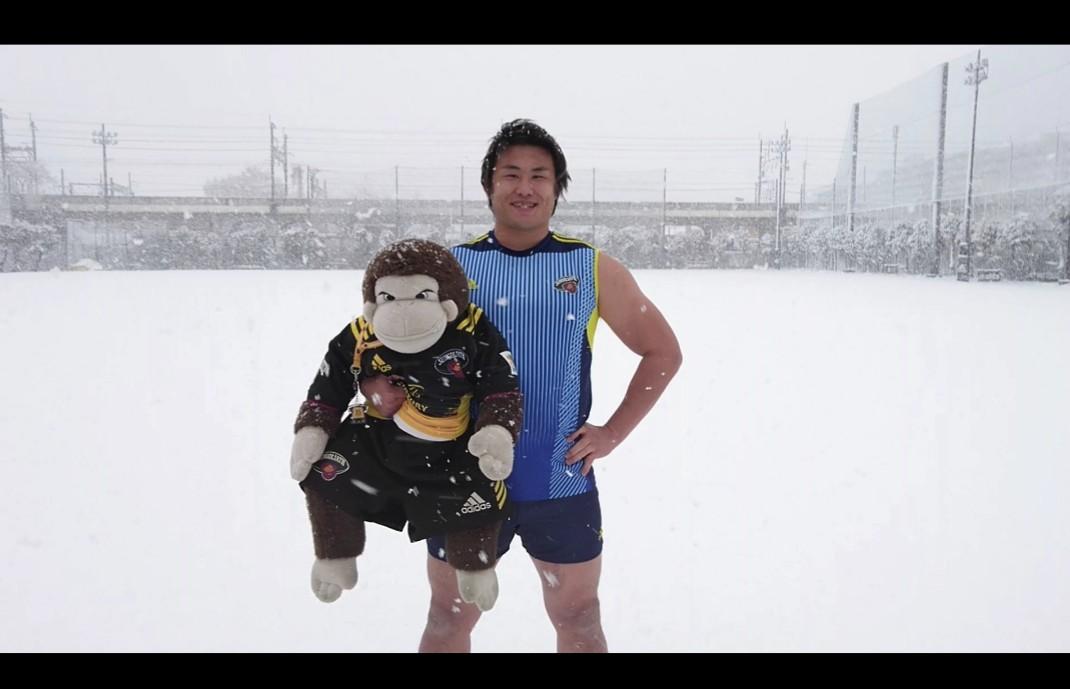 積雪とビックカメラさん