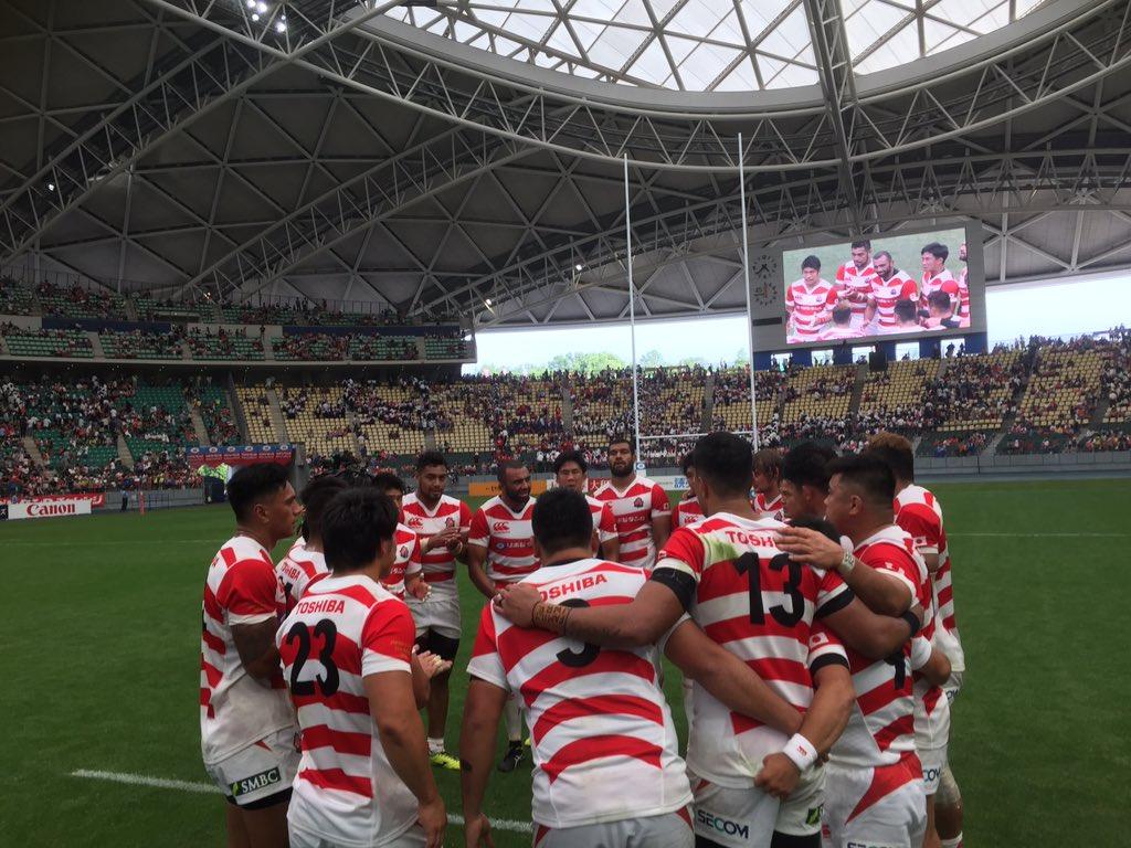 ラグビー日本代表 イタリア代表戦